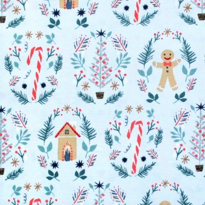 Art Gallery Fabrics Cozy & Joyful Ginger Joy