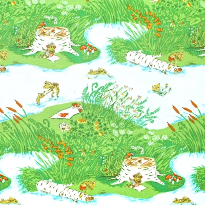 Windham Fabrics Heather Ross 20th Anniversary 37022A-1 Frog Pond