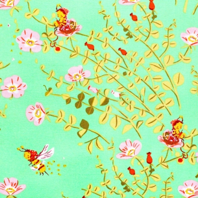 Windham Fabrics Heather Ross 20th Anniversary 37023A-5 Nanny Bee