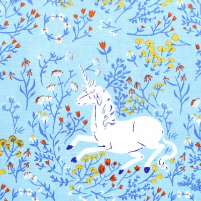 Windham Fabrics Heather Ross 20th Anniversary 39657A-4 Unicorn