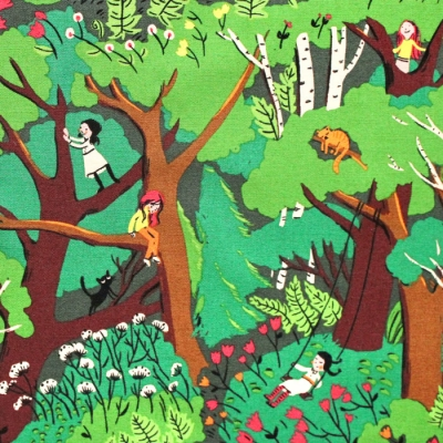 Windham Fabrics Heather Ross 20th Anniversary 40927A-2 Climbing Trees