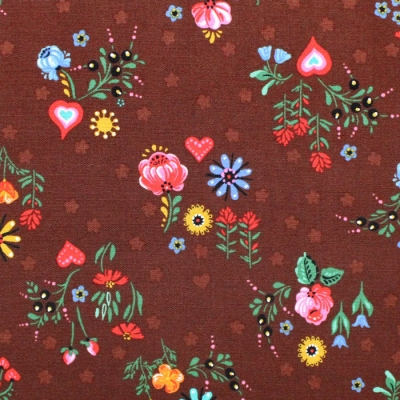 Robert Kaufman Hidden Canyon WEL-19806-378 Floral Ceadar