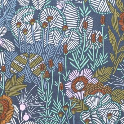 Cloud9 Fabrics Grasslands 226976 Embroidered Floral