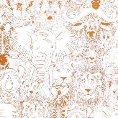 Cloud9 Fabrics Grasslands 226970 Wild Thing Gold