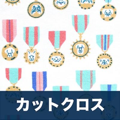 カットクロス Paintbrush Studio Fabrics Best in Show 120-21556 Dog Medals