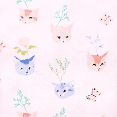 Birch Fabrics Kitty Garden JR-10 Main