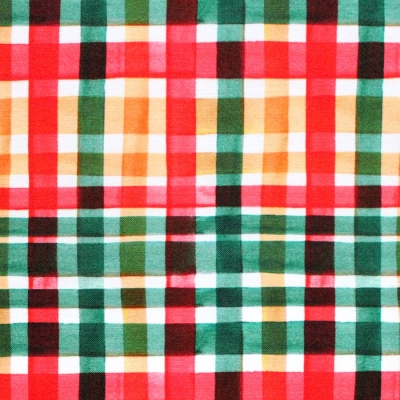 Michael Miller Fabrics Ink Unleashed DC9326-MULT Gorgeous Plaid