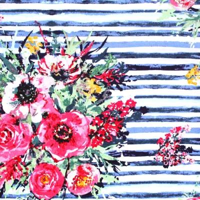 Art Gallery Fabrics Aquarelle Plein Air Bouquet