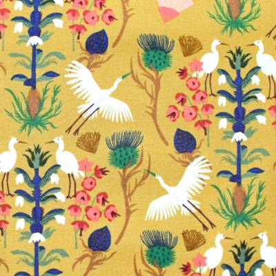 Cloud9 Fabrics Dragons & Lanterns 226983 Floral Flight