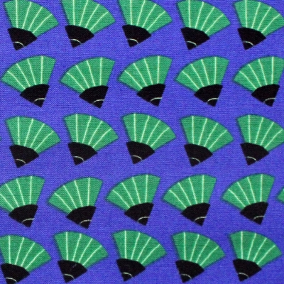 Cloud9 Fabrics Dragons & Lanterns 226984 Dancing Fans