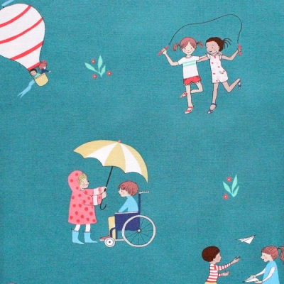 Michael Miller Fabrics Wonderful World DH9376-MARI Be a Friend Marigold