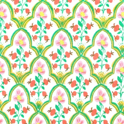 Windham Fabrics Malibu 52151-18 Wood Block Mustard