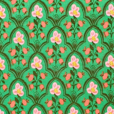 Windham Fabrics Malibu 52151-19 Wood Block Dark Green