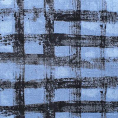 Windham Fabrics The Blue One 43192A-15 Plaid Sea Sky Blue