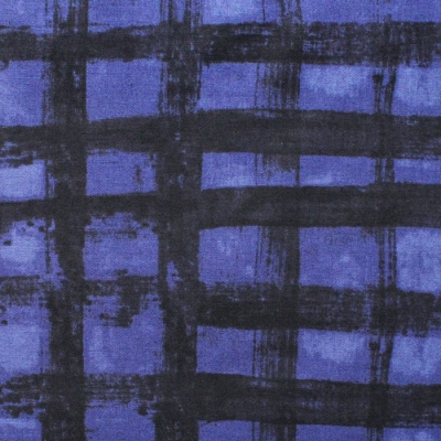 Windham Fabrics The Blue One 43192A-16 Plaid Blueberry