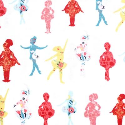 Studio E Fabrics Bella Ballerina 5365-2 Textured Ballerinas