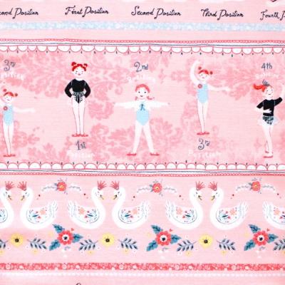 Studio E Fabrics Bella Ballerina 5368-22 Novelty Stripe