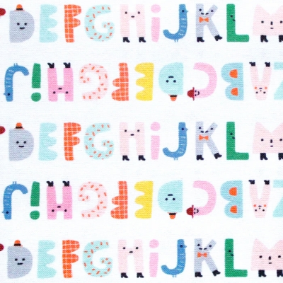 Paintbrush Studio Fabrics Animal Alphabet 120-21824 Alphabet Stripe