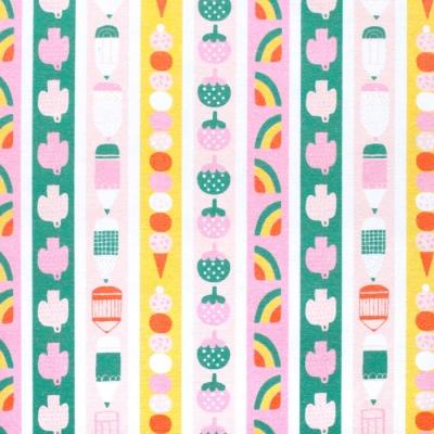 Paintbrush Studio Fabrics Animal Alphabet 120-21827 Pencil Stripe