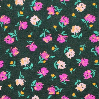 Art Gallery Fabrics The Flower Society Gentle Rosebuds Lunar