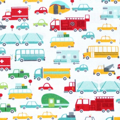 Moda Fabrics On The Go 20721-11 Beep Beep Cloud