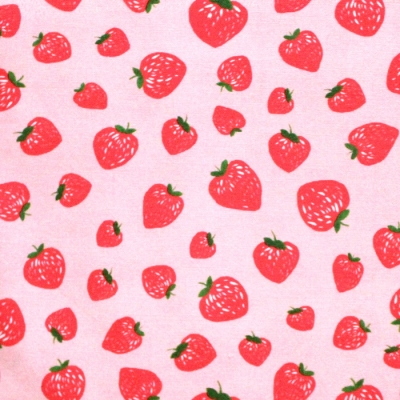 Michael Miller Fabrics Kiss The Cook CX8106-SHEL Strawberry Jam Pink