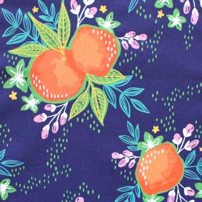 Paintbrush Studio Fabrics Citrus House 120-21873 Grove Bouquet