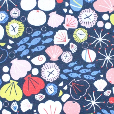 Dashwood Studio Rock Pool 1757 Shells And Fish