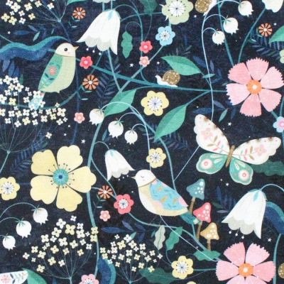 Dashwood Studio Hedgerow 1835 Birds & Butterflies