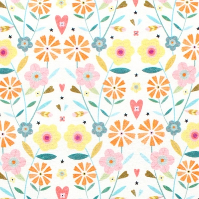 Dashwood Studio Hedgerow 1841 Small Floral Yellow