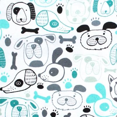 Art Gallery Fabrics Oh, Woof! Woof That Way