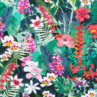 【METERS / 1m単位】Art Gallery Fabrics Boscage Lush Rainforest