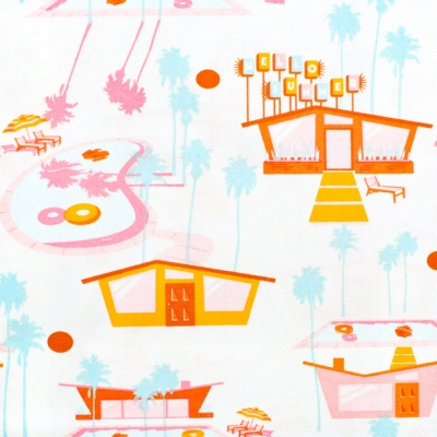 Art Gallery Fabrics Sunburst Hello Summer Hot