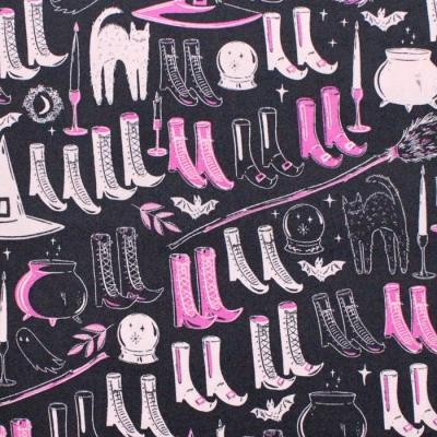 Art Gallery Fabrics Spooky'n Sweeter Witch's Wardrobe Sweet