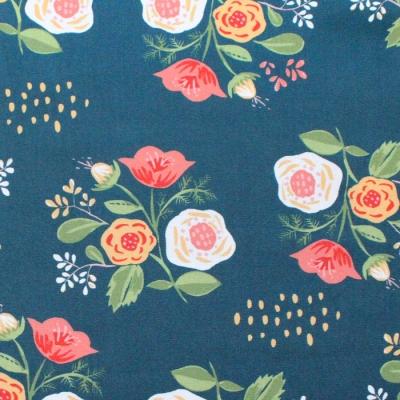Monaluna Vintage 74 V74-01 Bouquet on Teal