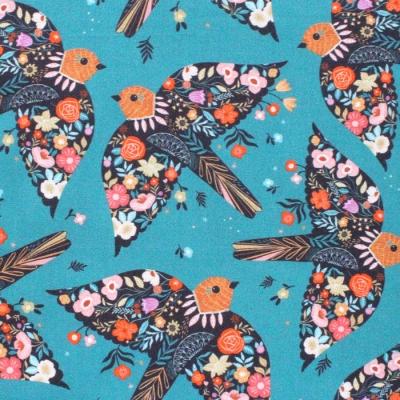 Dashwood Studio Good Vibes 1853 Birds Teal