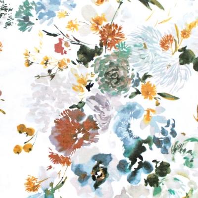 Windham Fabrics Wildflower 2251-2 Wild Flower Teal