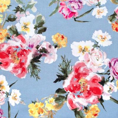 Windham Fabrics Wildflower 52252-6 Coral Charm Dusk