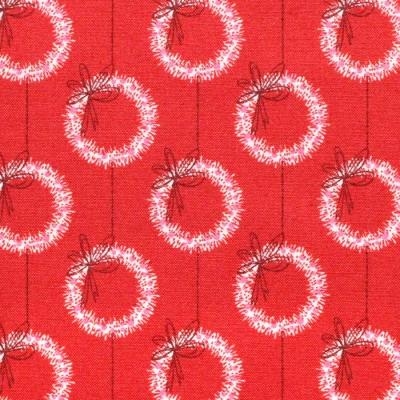Cloud9 Fabrics Christmas Past 227087 Winter Wreaths
