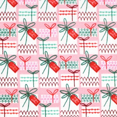 Cloud9 Fabrics Christmas Past 227089 Gift Wrapped