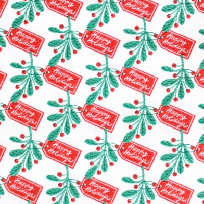 Cloud9 Fabrics Christmas Past 227088 Happy Holidays