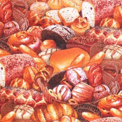 Elizabeth's Studio Food Festival 395E-MLT Bread Multi