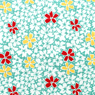 <img class='new_mark_img1' src='https://img.shop-pro.jp/img/new/icons42.gif' style='border:none;display:inline;margin:0px;padding:0px;width:auto;' />Penny Rose Fabrics Hope Chest Floral Teal C4251