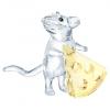 スワロフスキー 「マウスとチーズ」5464939