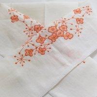 《六花オリジナル》刺繍半衿【小花】