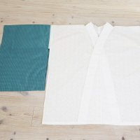 《Webショップ限定》綿レース半襦袢+替え袖セット