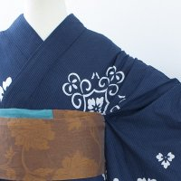 《USED》紺花紋