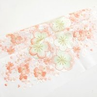 刺繍半衿【桜】