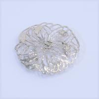 《K−AZU》彫金帯留め−乱菊−