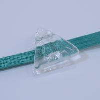 《chika yamazaki》ガラス帯留め−氷の山−